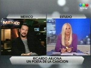 Arjona será artista exclusivo de Canal Trece