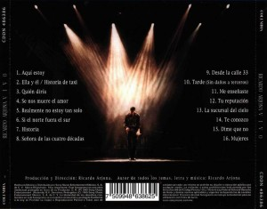 "Ricardo Arjona – cd ""Vivo"" en formato Lossless Flac"