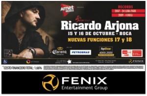Más de Ricardo Arjona en Argentina – ¡Se abren nuevas fechas!