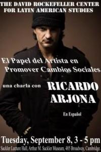 Ricardo Arjona en Harvard