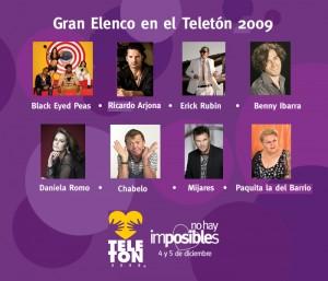 Ricardo Arjona cantará en el Teletón México 2009