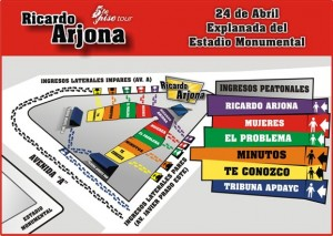 Ricardo Arjona vuelve a Perú