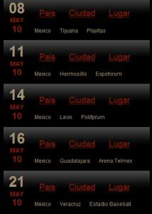 Nuevas fechas Ricardo Arjona en Mexico