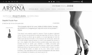 Nueva imagen del Sitio Oficial de Ricardo Arjona