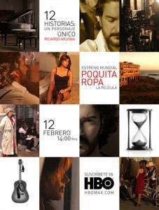 Afiche Promocional: Poquita Ropa, La Película