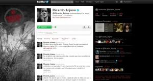 Ricardo Arjona en Twitter