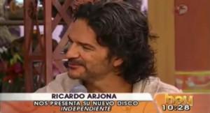 Ricardo Arjona en el programa HOY