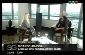 Susana Giménez entrevista a Ricardo Arjona en Miami