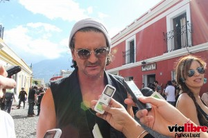 Video: Ricardo Arjona realiza grabación en La Antigua Guatemala