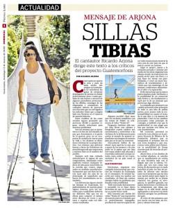 Ricardo Arjona responde a críticos