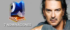 Ricardo Arjona recibe 7 nominaciones en Los Premios Juventud