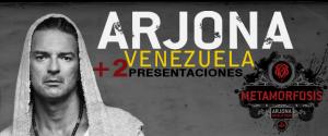 Arjona suma dos presentaciones más en Venezuela