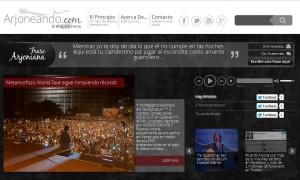 Gran lanzamiento de la nueva imagen de Arjoneando.com