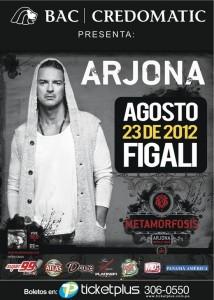 Ricardo Arjona se presentará en Panamá