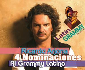 Ricardo Arjona recibe 4 nominaciones en los Latin Grammy