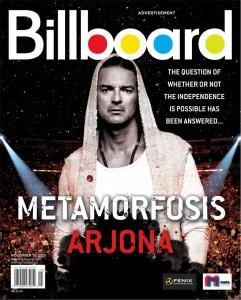 Ricardo Arjona en la revista Billboard