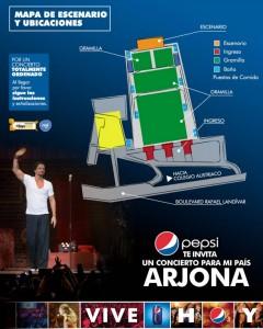 Información importante: Ricardo Arjona, un concierto para mi país