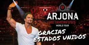 Ricardo Arjona y el gran cierre del Metamorfosis World Tour USA