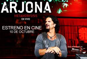 Estreno en Cine: Arjona Metamorfosis en Vivo