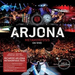 Tracklist: Arjona Metamorfosis en Vivo (CD+DVD)