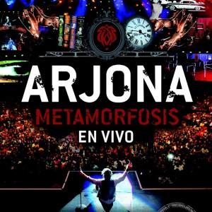 ¡Hoy, gran lanzamiento: Arjona Metamorfosis en Vivo CD+DVD!