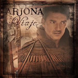 """Portada del disco """"Viaje"""" de Ricardo Arjona"""