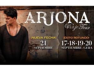 Ricardo Arjona sigue rompiendo records sumando quinto show en Geba