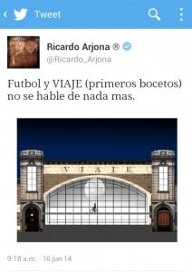 Así comienza la gira de Ricardo Arjona (primeros bocetos, Tour Viaje)
