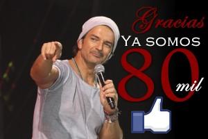 ¡Ya somos 80.000 en Facebook!