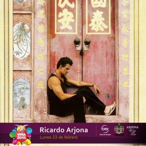 Ricardo Arjona agota rápidamente entradas para Viña del Mar 2015