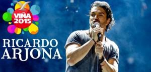 Ricardo Arjona hizo vibrar a la Quinta Vergara tras presentación en el Festival de Viña del Mar 2015