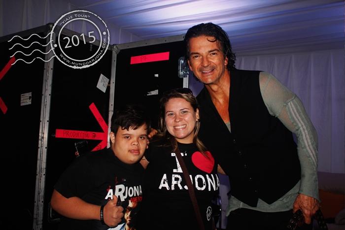 Miguel, Pilar y Ricardo Arjona - Foto cortesía Mundo Arjona